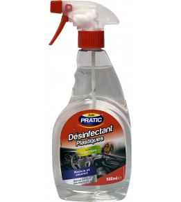 Nettoyant plastiques - agrumes