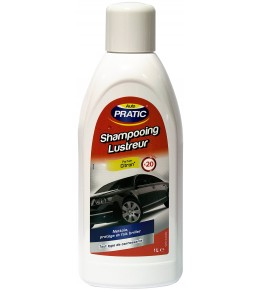 Shampooing lustreur cires auto