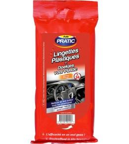 Lingettes plastiques auto