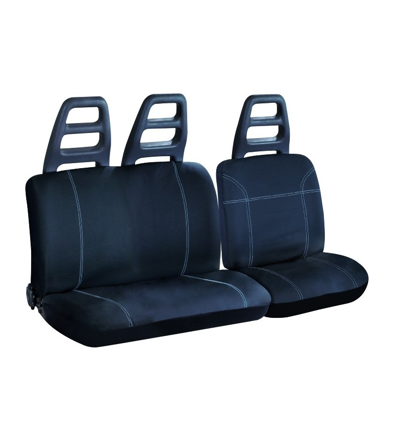 Housse de siège auto noir utilitaire