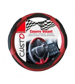 Couvre volant turbo rouge