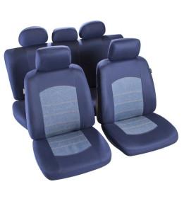 Housse de siège bleu jeans