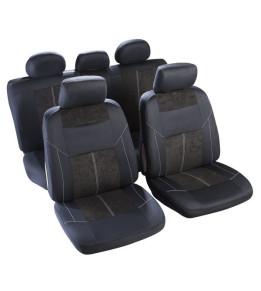 Housse sièges Noir et...