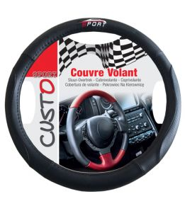Couvre volant Sport rouge