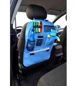 Organiser auto Bleu