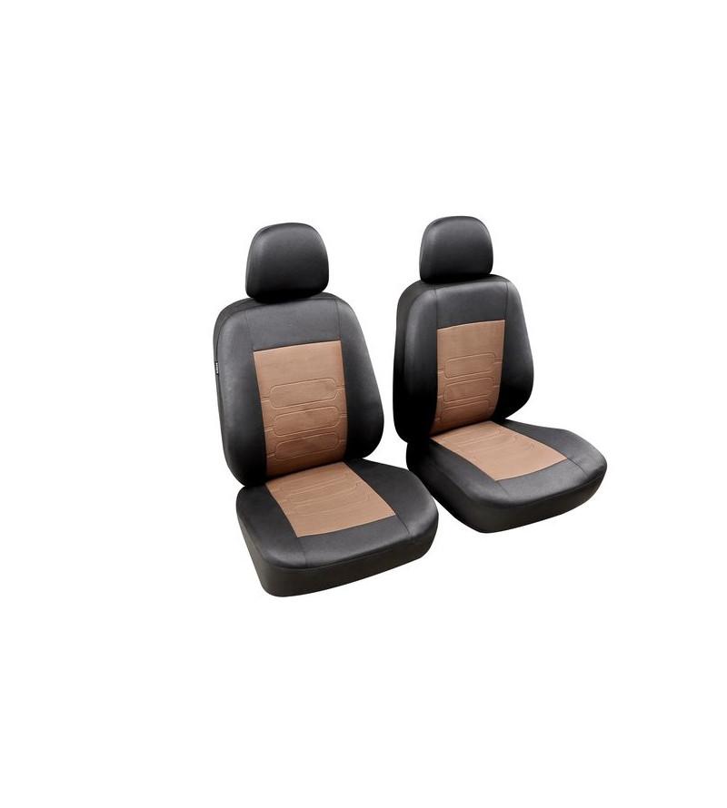 Housses sièges avants Sapa Noir / Marron