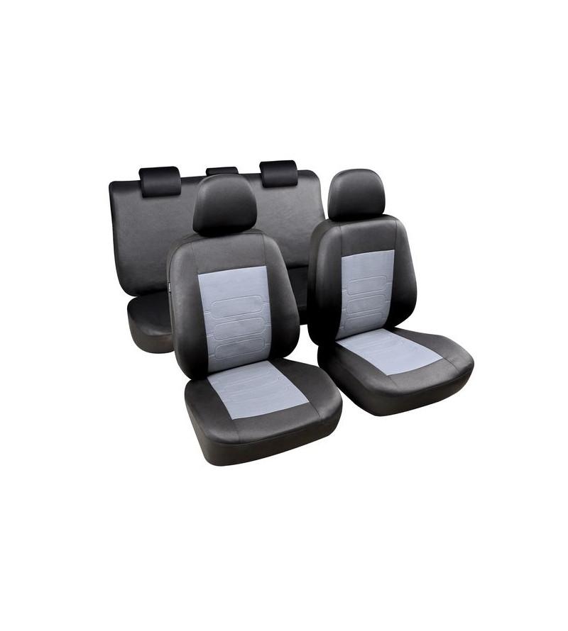 Housses sièges Sapa Noir / Gris