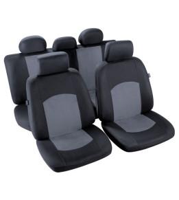 Housses sièges Nikko Noir / Gris