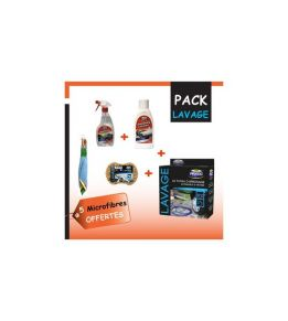 Pack Lavage Auto