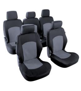 Housses sièges Nikko Noir / Gris T4