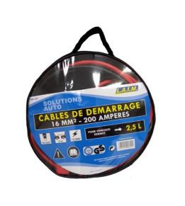 Câbles de démarrage 16 mm² véhicules essence