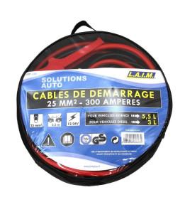 Câbles de démarrage 25 mm²