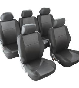 Housses de sièges avants et arrière pour Monospace - Jupiter Noir