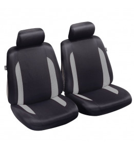 Housses de sièges auto Cronos - Noir/Gris