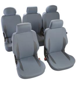 Housses de sièges avants et arrières pour Monospace - Cronos Gris
