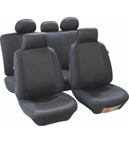 Housses de sièges avants et banquette - Managua Noir