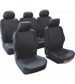 Housses de sièges avants et arrières pour Monospace - Managua Noir