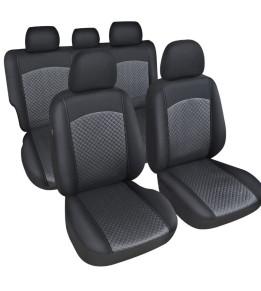 Housses de sièges avants et banquette spécial 4X4-SUV - Florencia Noir