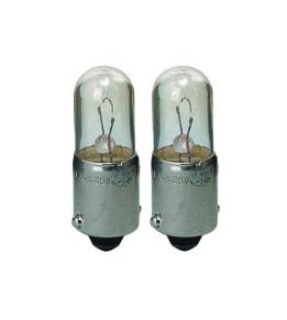 2 Lampes témoin 12v - 4 w