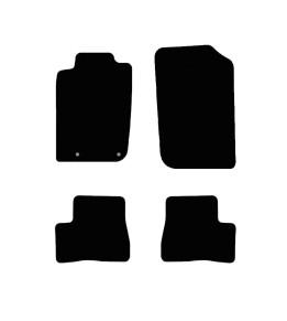 Tapis Auto Peugeot 206 - Noir
