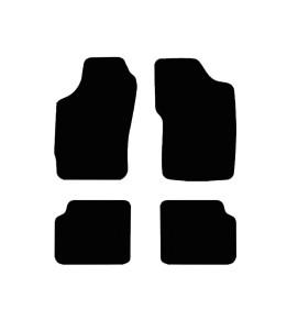 Tapis Auto Peugeot 306 - Noir
